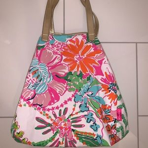 Lilly Pulitzer for Target Nosie Posey Print Tote